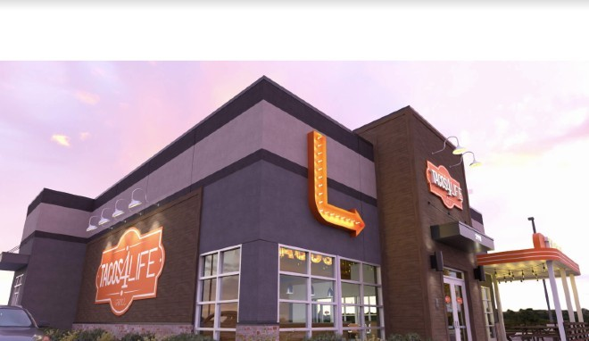 Tacos 4 Life will open its first Missouri location in O'Fallon this Fall. - COURTESY OF LEWIS ARCHITECTS