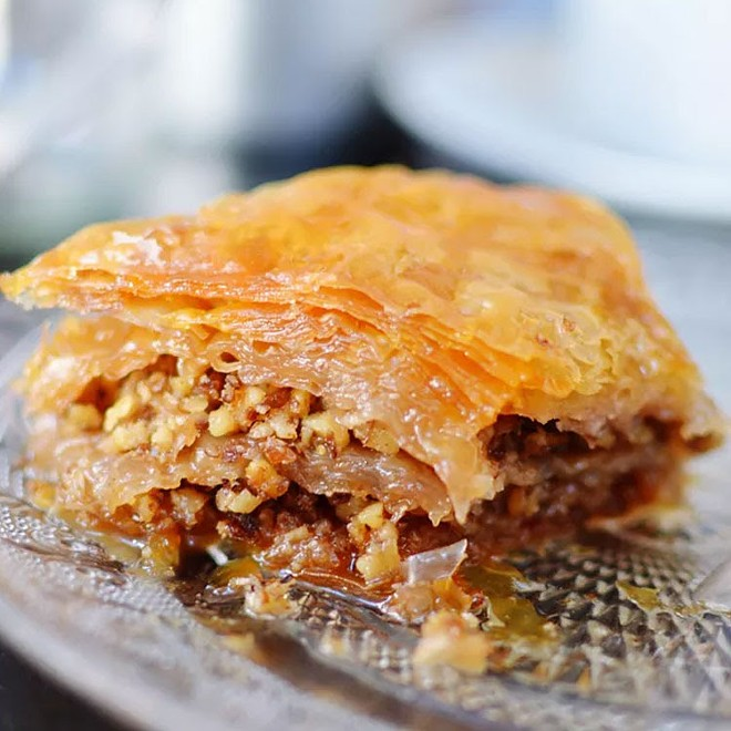 Don't forget the baklava. - COURTESY ST. LOUIS COUNTY GREEKFEST
