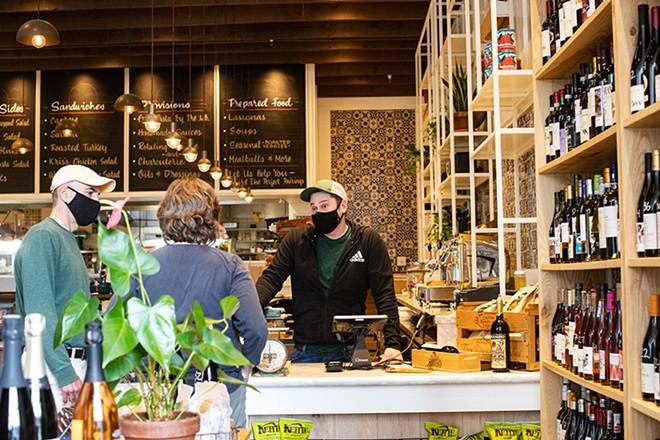 A look inside Pastaria Deli & Wine. - MABEL SUEN