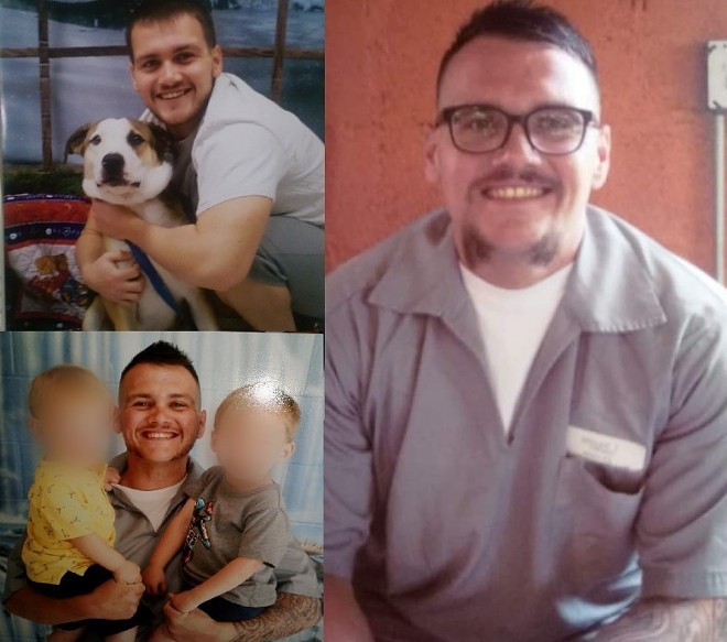 In prison since 2012, Trevor Saller watched as Missouri legalized cannabis medicinally — the same drug that landed him a thirteen-year sentence. - IMAGES COURTESY OF LISA KELLEY