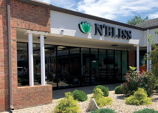 N'Bliss' Ellisville shop is one of three locations the chain currently has open in the St. Louis area. - COURTESY N'BLISS CANNABIS
