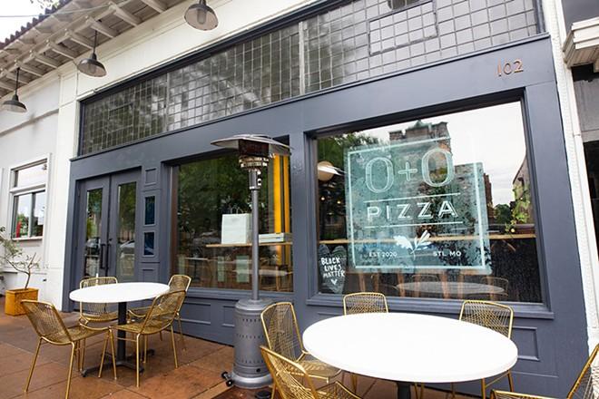 O + O Pizza a Webster Groves.  -MABEL SUEN