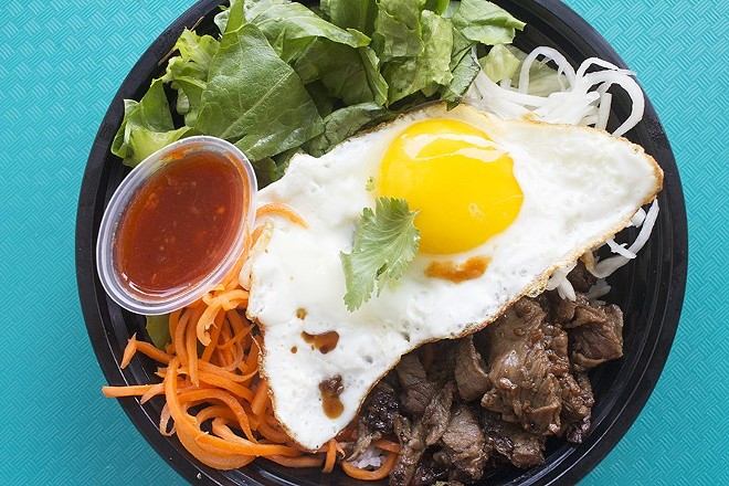 Kalbi Taco Shack is closing its Cherokee Street location and moving to City Foundry. - MABEL SUEN