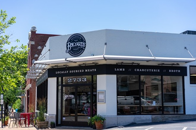 Bolyard's Meat & Provisions is now open in its expanded location  in Maplewood. - HOLDEN HINDES