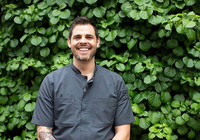 Chef Andrew Simon crafted new menus with his culinary team. - MABEL SUEN