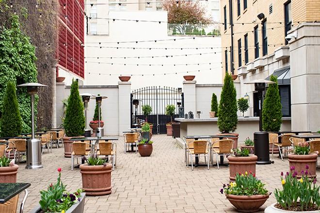 Edera has a perfect patio. - MABEL SUEN