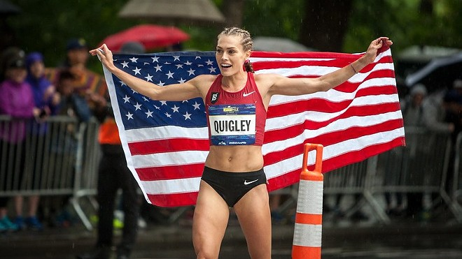 Colleen Quigley at a race on Sept. 9, 2018. - DAVE ATKINSON / FLICKR