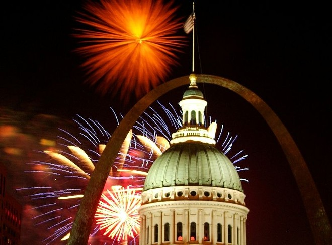 Fireworks are back in St. Louis. - TIMOTHY K HAMILTON / FLICKR
