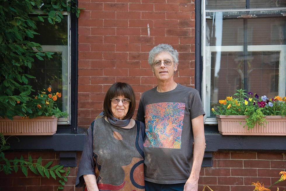 Marian Amies and Bill Kranz have been together nearly 30 years. - ERIN MCAFEE