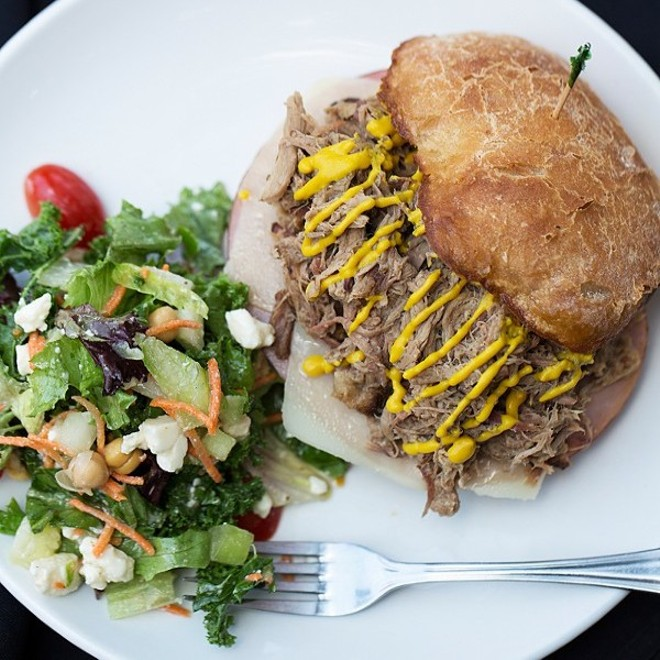 We'll miss the Cuban sandwich at J. Greene's Pub. - JENNIFER SILVERBERG
