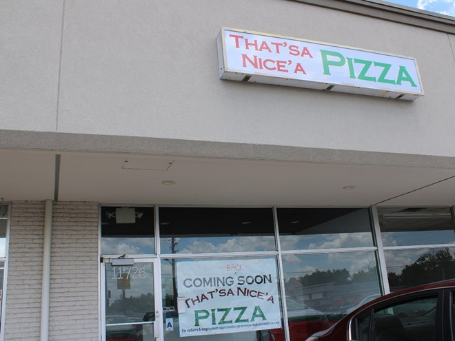 The new additional location is the original home of That'sa Nice'a Pizza. - JENNA JONES