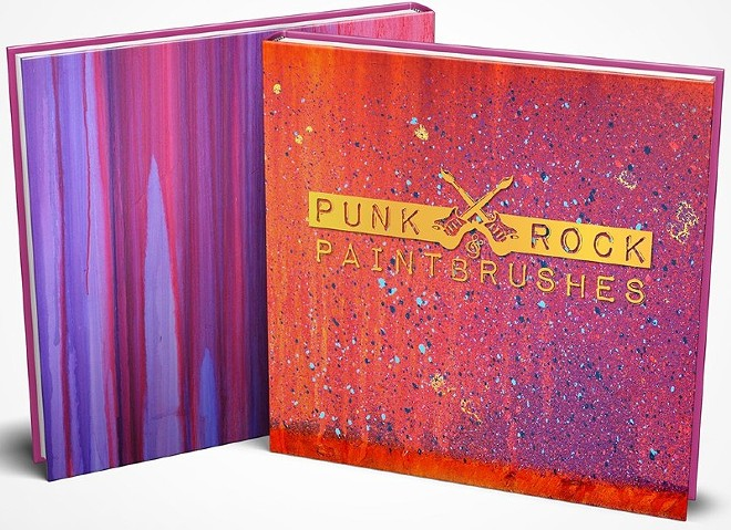 Punk Rock & Paintbrushes' two-day St. Louis event will celebrate the release of the collective's new coffee table book full of art. - VIA PUNK ROCK AND PAINT BRUSHES