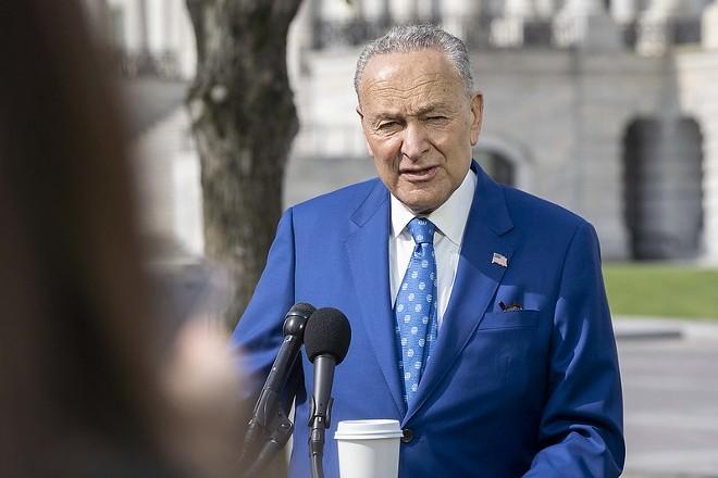 U.S. Senate Majority Leader Chuck Schumer says legalization is a priority. - SENATE DEMOCRATS/FLICKR