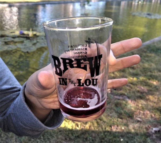 Brew in the Lou, one of St. Louis' most popular beer festivals, returns to Francis Park this October. - COMPLIMENTS OF LUTHERAN ELEMENTARY SCHOOL ASSN.