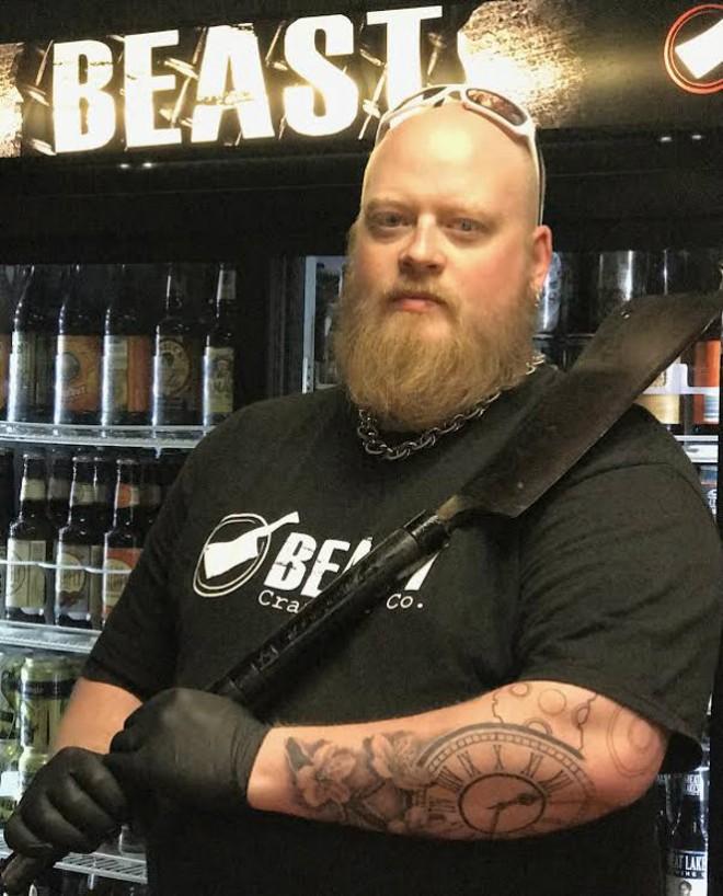 BEAST Craft BBQ's David Sandusky knows where to go for food on the East Side. - MEGGAN SANDUSKY