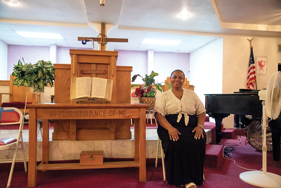 Pastor Pamela Paul is driven by personal tragedy to save people from fentanyl. - ERIN MCAFEE