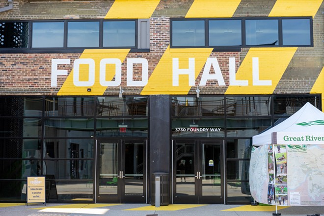 The Food Hall at City Foundry opened on August 11. - HOLDEN HINDES