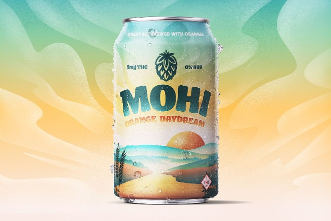 Mohi aims for the sweet spot where non-alcoholic craft beer meets THC-infused drinks. - VIA SWADE CANNABIS