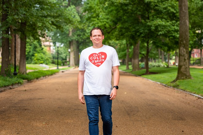 St. Louis' most eligible Colin. - PHILLIP HAMER PHOTOGRAPHY