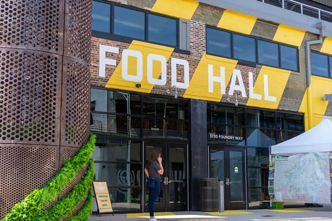 The City Foundry Food Hall served a whopping 15,000 people over its first five days. - HOLDEN HINDES