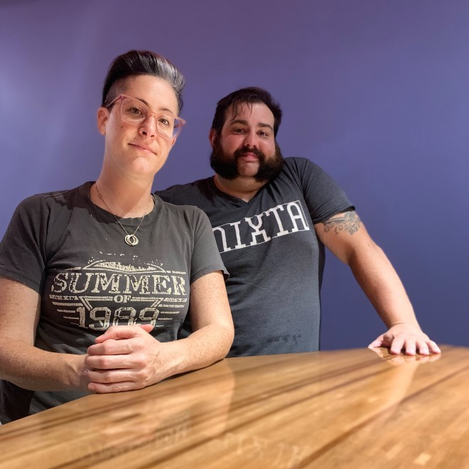 Meredith Barry and Tony Saputo will open Platypus in the Grove this Fall. - COURTESY MEREDITH BARRY