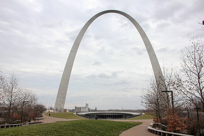 Avoid the Arch this morning, police say. - DANNY WICENTOWSKI