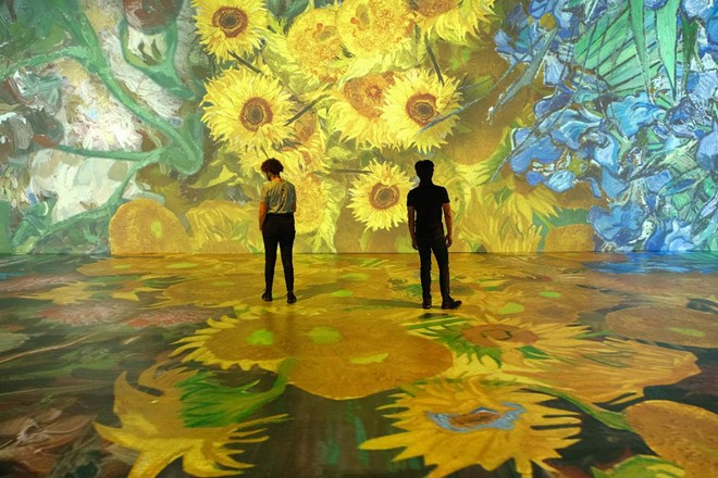 COURTESY BEYOND VAN GOGH: THE IMMERSIVE EXPERIENCE