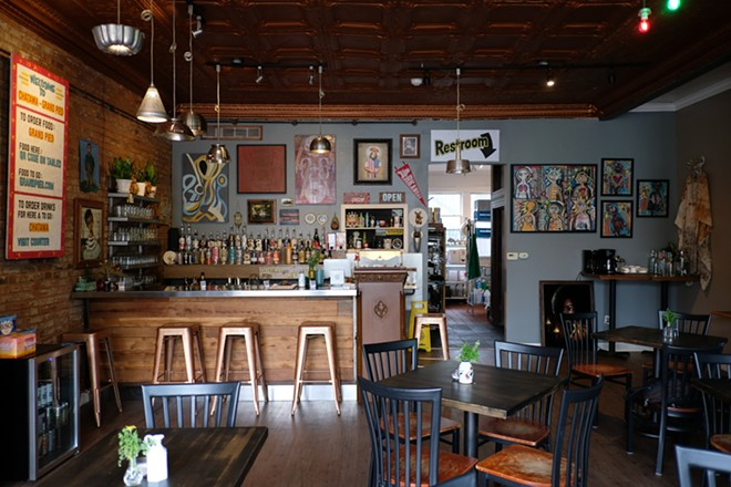 Chatawa, the bar side of the operation, features spirits and beers sourced along I-55 . - PHUONG BUI