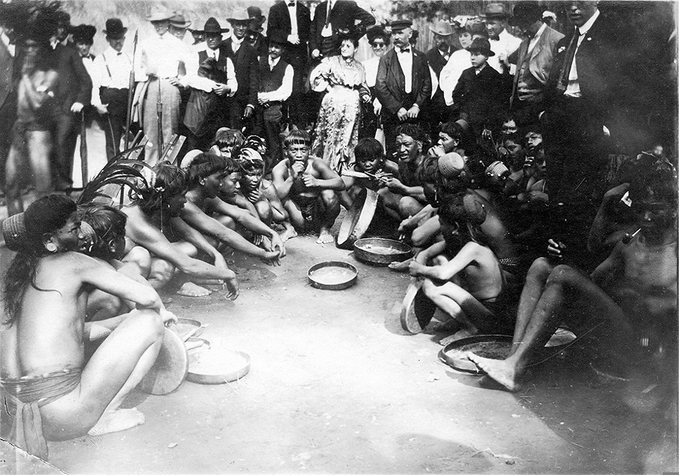 White patrons paid 25 cents to tour the Philippine Village, where residents were treated as a spectacle. - MISSOURI HISTORY MUSEUM COLLECTIONS