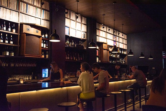 Takashima Record Bar offers the vinyl experience in St. Louis. - ERIN MCAFEE