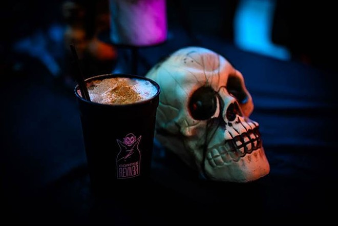 Corpse Reviver is back with new spooky drinks this year. - WE EAT STUFF