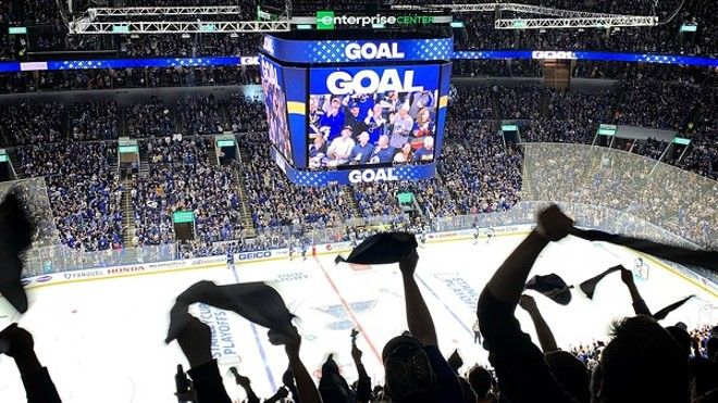 The return to Blues hockey games now includes proof of vaccination or negative COVID-19 tests. - JAIME LEES