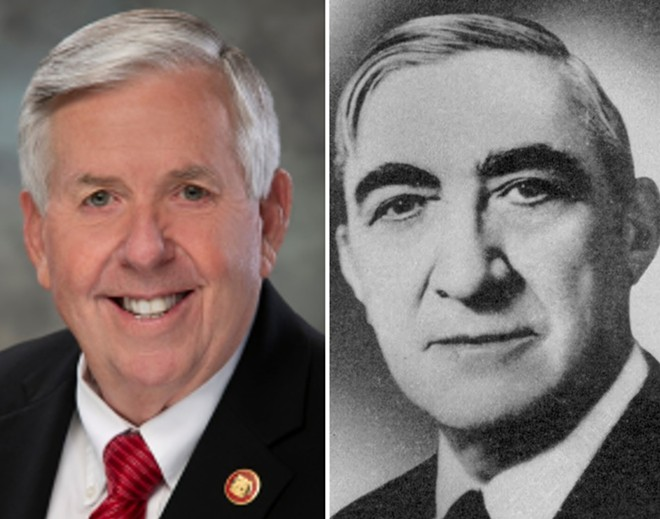 Governor Mike Parson and Governor Forrest Smith have something in common. - STATE OF MISSOURI