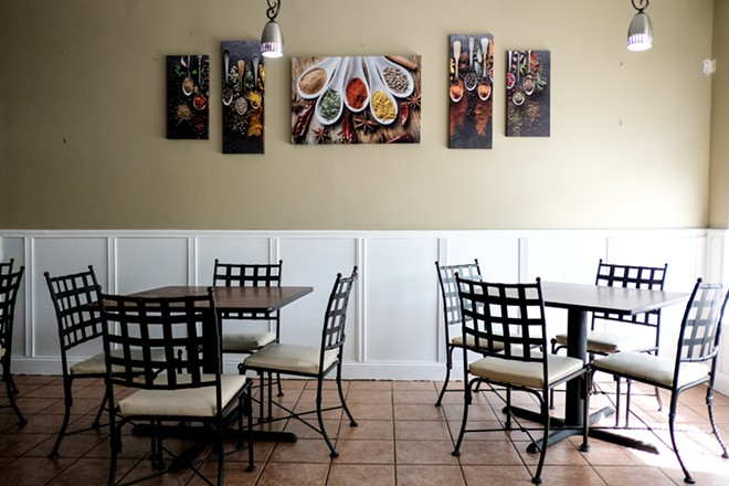 Owner Trezel Brown created a warm, welcoming environment for guests to enjoy her cooking. - PHUONG BUI