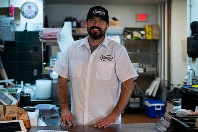 Chris Armstrong, the owner of Navin's BBQ. - PHUONG BUI