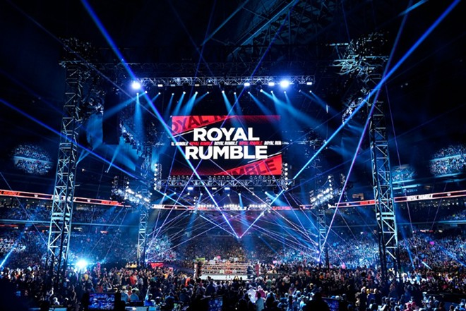 The Royal Rumble's comin' to town once more. - COURTESY WWE