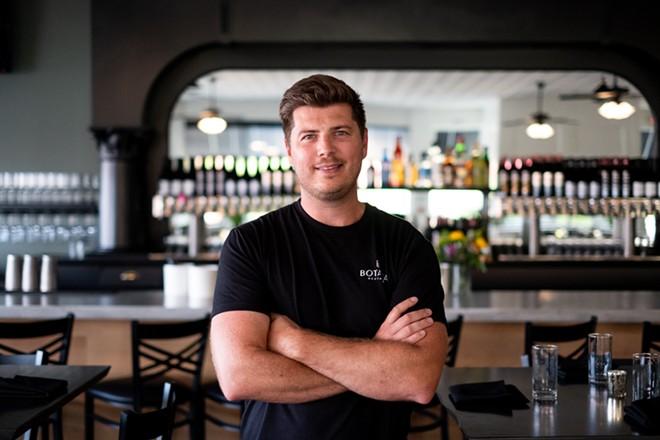 Ryan Sherring, owner of Botanica. - PHUONG BUI