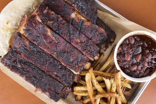 You can try BEAST Craft BBQ's award winning 'cue at this weekend's Q in the Lou festival. - MABEL SUEN