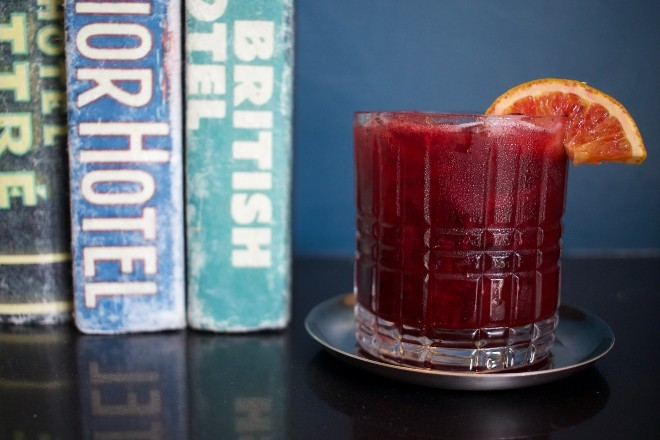 The Berry Sour pairs well with a variety of dishes. - CHERYL BAEHR