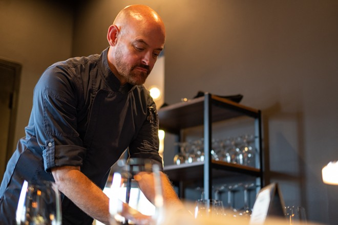Timothy Metz and his partners bring timeless fine-dining to Creve Coeur at Timothy's The Restaurant. - PHUONG BUI