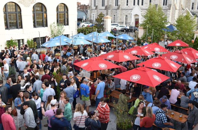 For the tenth year, Urban Chestnut Brewing Company's Oktoberfest will be taking place, but this time with a new location. - COURTESY URBAN CHESTNUT BREWING CO.