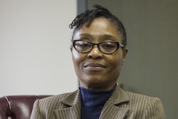 """Chief Trial Assistant Annette Llewellyn says that the """"us versus them"""" mentality between prosecutors and defense attorneys has softened since Gardner's election. - PHOTO BY DANNY WICENTOWSKI"""