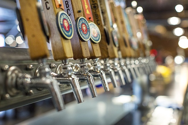 Urban Chestnut offers a craft beer alternative to St. Louis' famed Anheuser-Busch tour. - PHOTO BY JENNIFER SILVERBERG