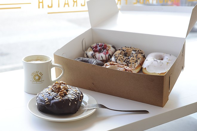 Vincent Van Doughnut offers pillowy squares of goodness. - PHOTO BY KELLY GLUECK
