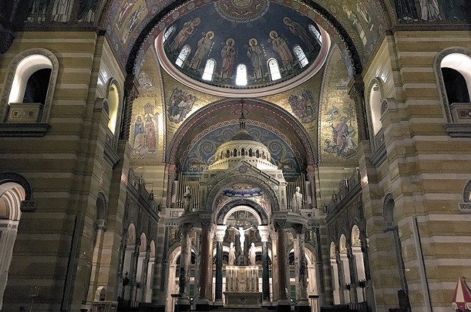 The Cathedral Basilica has to be seen to be believed. - PHOTO BY ELIZABETH SEMKO