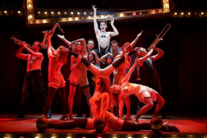 Cabaret comes to the Fox beginning March 7. - JOAN MARCUS