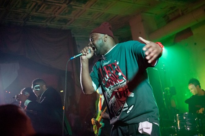 Ghostface Killah will perform at the Ready Room on Thursday, April 6. - PHOTO BY JON GITCHOFF