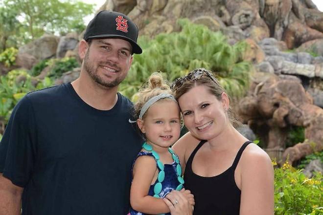 Kyle, Piper and Emily Jones at Disney's Animal Kingdom. - PHOTO COURTESY OF KYLE JONES.