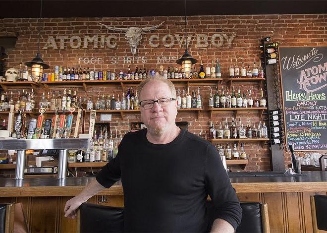 Atomic Cowboy's Chip Schloss is an accidental restaurateur. - MABEL SUEN