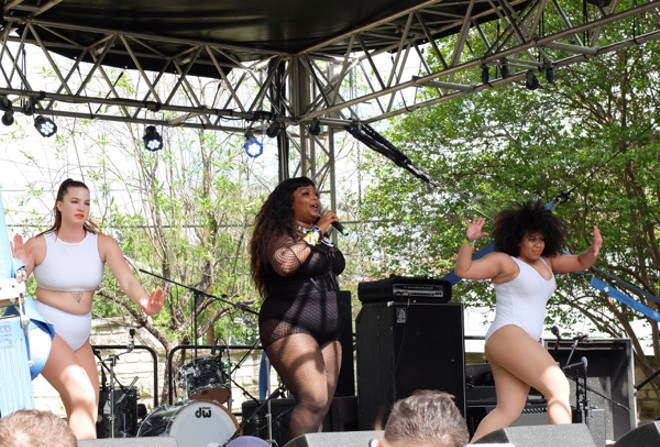 Lizzo at Pitchfork Day Party - DANA PLONKA